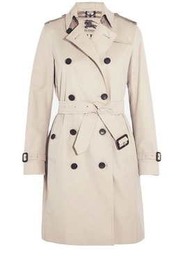 The Kensington Trench Coat by Burberry London in American Ultra