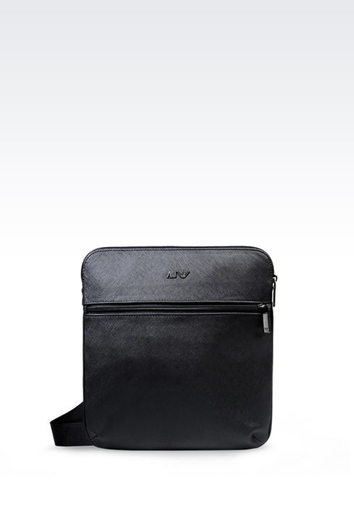 Flat Messenger Bag by Armani Jeans in The Walk