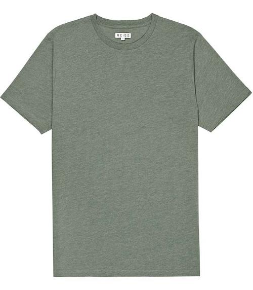 Crew Neck T-shirt by Bless in Ride Along