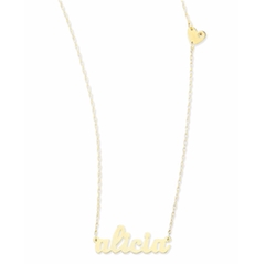 Abigail-Style Personalized Name Necklace by Jennifer Zeuner  in Suicide Squad