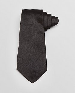 Solid Classic Tie by Armani Collezioni in Furious 7
