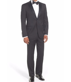 Classic Fit Loro Piana Wool Tuxedo by David Donahue in House of Cards