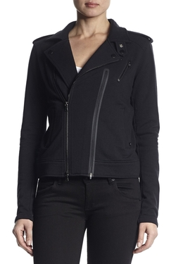 Cynic Moto Jacket by Hudson Jeans in The Blacklist