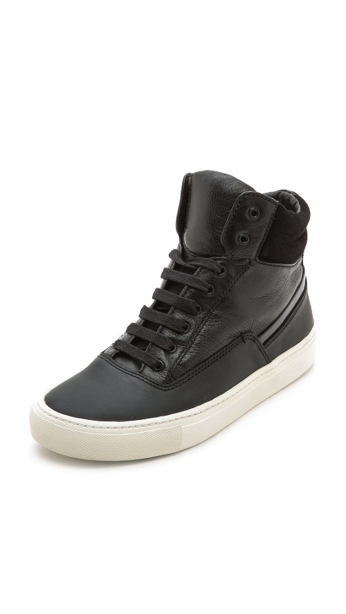 Newman High Top Sneakers by Vince in Step Up: All In
