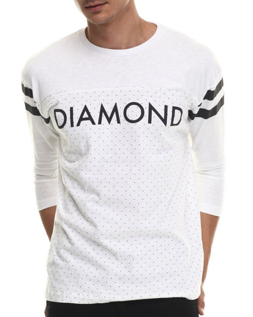 Micro Diamond Football Top by Diamond Supply Co in Ballers - Season 1 Episode 6