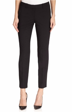 Testra Edition Stretch Wool Cropped Pants by Theory in The Boss