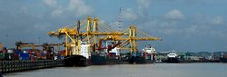 Chittagong, Bangladesh by Chittagong Port Cargo Station in Avengers: Age of Ultron