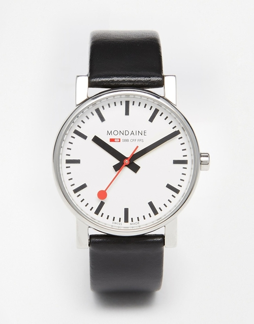 Evo Leather Strap Watch by Mondaine in Brooklyn Nine-Nine