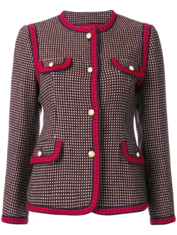 GG Bengal Tiger Back Jacket by Gucci in Will & Grace