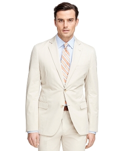 Fitzgerald Fit Twill Suit by Brooks Brothers in Masterminds