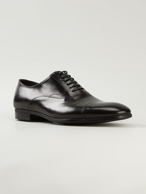 Formal Derby Shoes by Emporio Armani in Self/Less