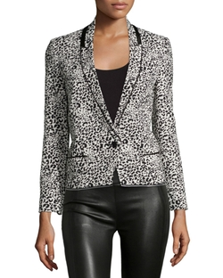 Leopard Jacquard Blazer by Zadig & Voltaire in Designated Survivor