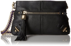 Pebble Leather Crossbody Bag by Dolce Vita in The Flash