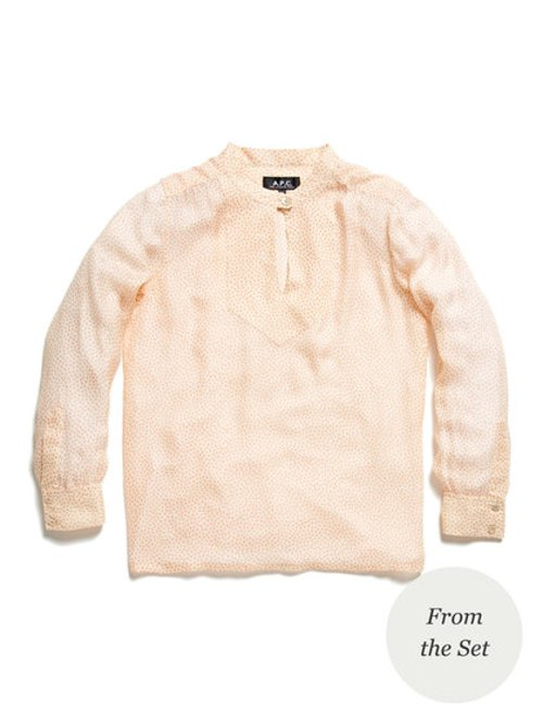 Blouse by A.P.C. in The Secret Life of Walter Mitty
