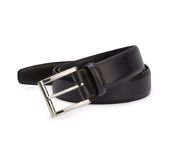 Italian Calfskin Belt by Saks Fifth Avenue Collection in CHIPs