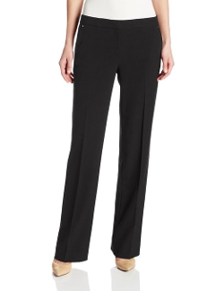 Straight Leg Pants by Anne Klein in Trainwreck
