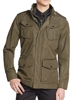 Water-Repellent Military Jacket by J. Lindeberg in The Big Bang Theory