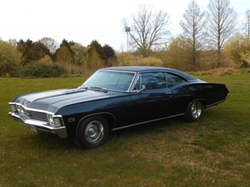 1967 Impala Coupe by Chevrolet in Supernatural