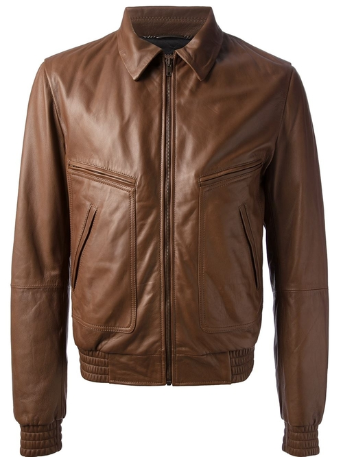 Classic Leather Jacket by Dolce & Gabbana in X-Men: Days of Future Past