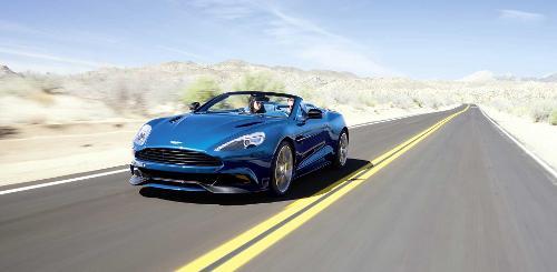Vanquish Volante by Aston Martin in Wish I Was Here