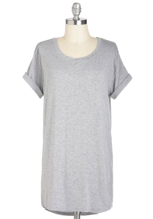Simplicity on a Saturday Tunic T-Shirt by Mod Cloth in The Place Beyond The Pines