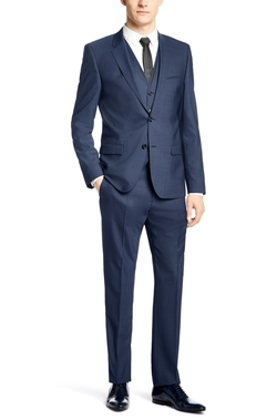 'Adanz/Weyll/Hamen' Slim Fit Three Piece Suit by Hugo Boss in American Ultra