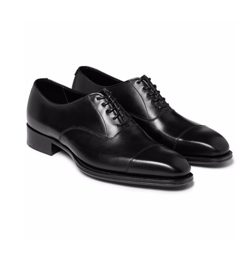 Leather Oxford Shoes by Kingsman + George Cleverley in Kingsman: The Secret Service
