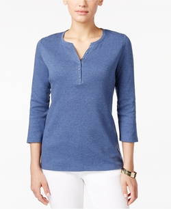Henley Top by Karen Scott in Quantico