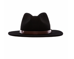 Messer Fedora Hat by Brixton in Kingsman: The Golden Circle