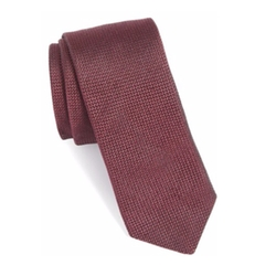 Solid Silk Tie by Ted Baker London in Molly's Game