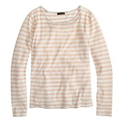 Oversize Stripe Long Sleeve Tee by J.Crew in The Boy Next Door