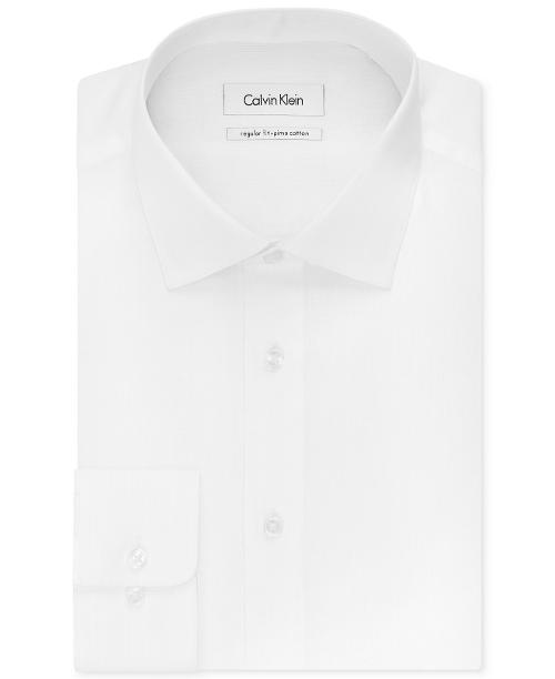 Solid Dress Shirt by Calvin Klein in Savages