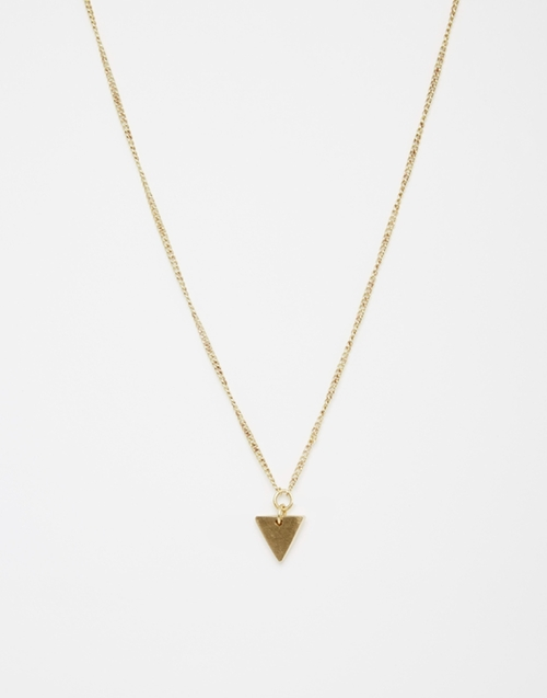 Triangle Pendant Necklace by Made in Modern Family - Season 7 Episode 14