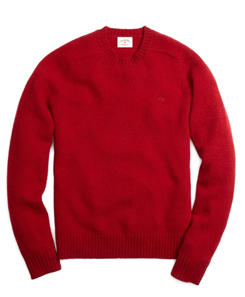 Shetland Crewneck Sweater by Brooks Brothers in While We're Young