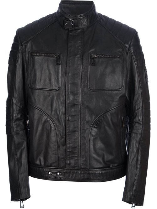 Ribbed Leather Jacket by Belstaff in Fast & Furious 6