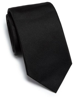 Grosgrain Silk Tie by Eton of Sweden in Suits
