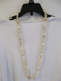 Puka Shell Necklace by Bonanza in Inherent Vice