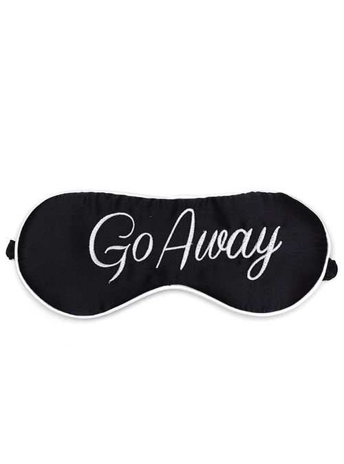 Cheyenne Go Away Eye Mask by Kiss Kill in Scream Queens - Season 1 Episode 13