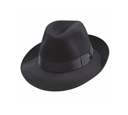 Classic Fedora Hat by Borsalino in The Blacklist