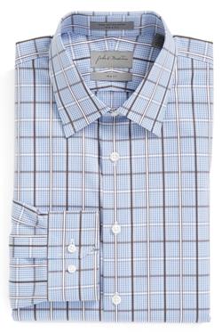 Trim Fit Plaid Dress Shirt by John W. Nordstrom in Scandal