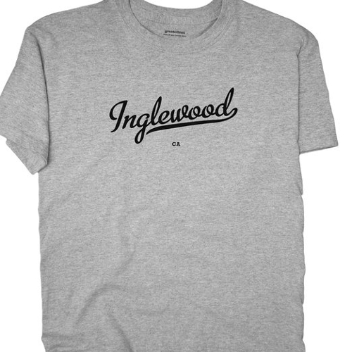 Inglewood California T Shirt by Greatcitees in Dope