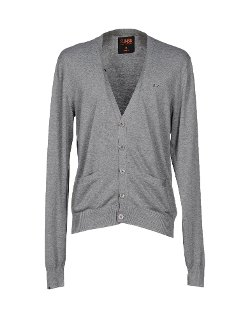 V-Neck Button Cardigan by Sun 68 in (500) Days of Summer