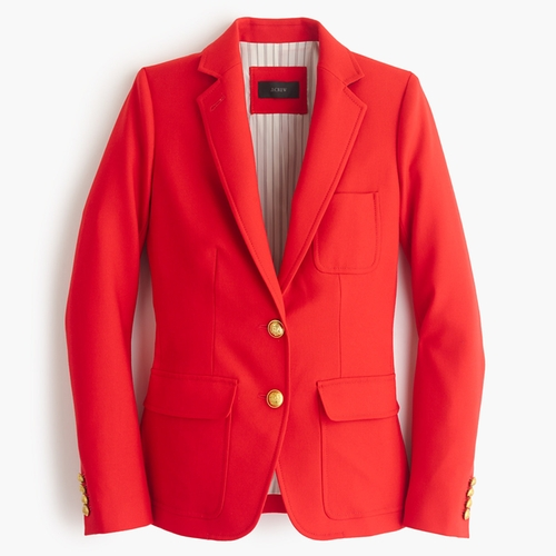 Rhodes Blazer In Italian Wool by J.Crew in The Good Wife