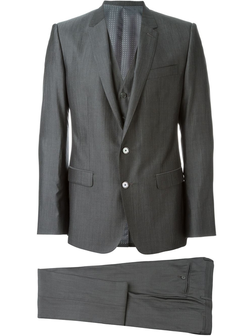 Three Piece Dinner Suit by Dolce & Gabbana in Billions - Season 1 Episode 3
