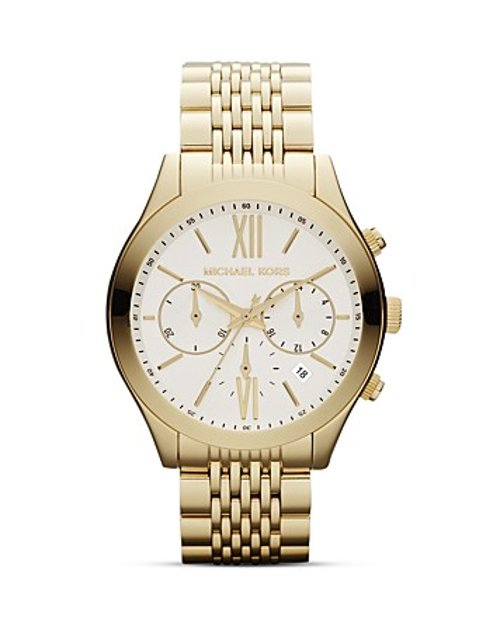 Brookton Bracelet Watch by Michael Kors in If I Stay