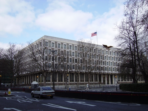 Embassy of the United States London, United Kingdom in Survivor