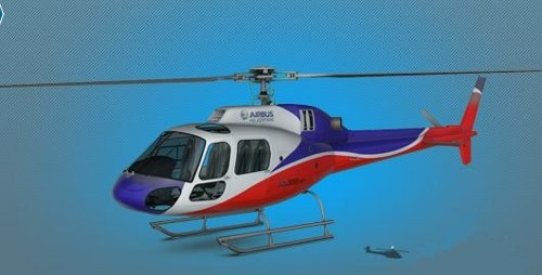AS355 Helicopter by Airbus Helicopters in Taken 3