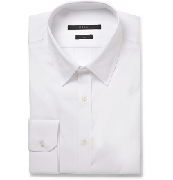 Slim-Fit Cotton-Poplin Shirt by Gucci in Spy