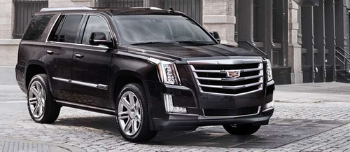 Escalade SUV by Cadillac in Keeping Up With The Kardashians - Season 11 Episode 9