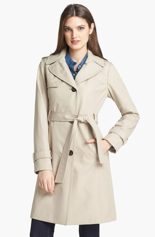 Trench Coat by Collection Ellen Tracy in (500) Days of Summer